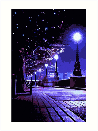 Starry Nights by Andrea Mazzocchetti