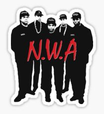 N.W.A. #1 Sticker