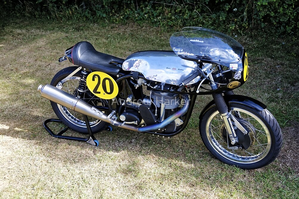 1961 Ecurie Sportive Norton 500  by Andrew Harker