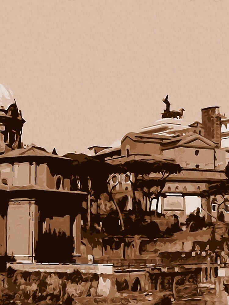Rome, a view from the Imperial Forums by ErianAndre