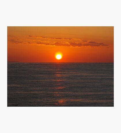 Sunset on the Mediterranean Photographic Print