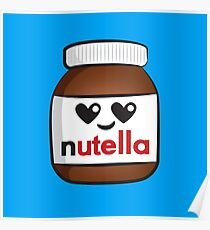 Nutella face 5 Poster