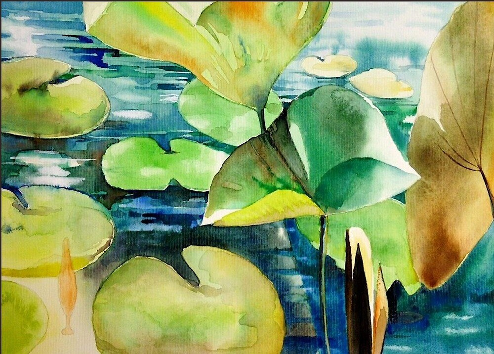 Lily Pads by paintingeezer