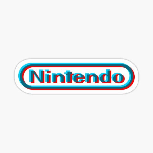 Nintendo 3D logo Sticker