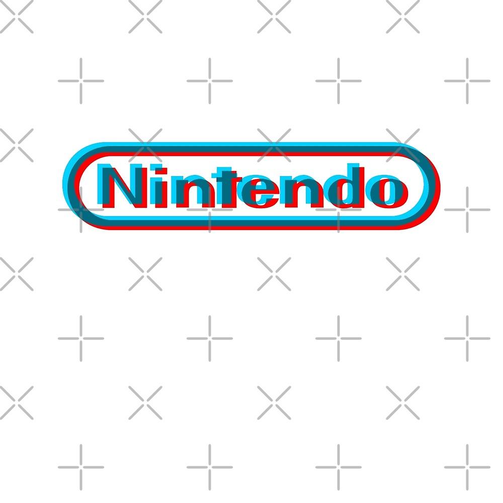 Nintendo 3D logo by Biosiz