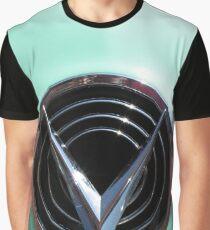 Retro chrome Buick V radiant decoration Graphic T-Shirt