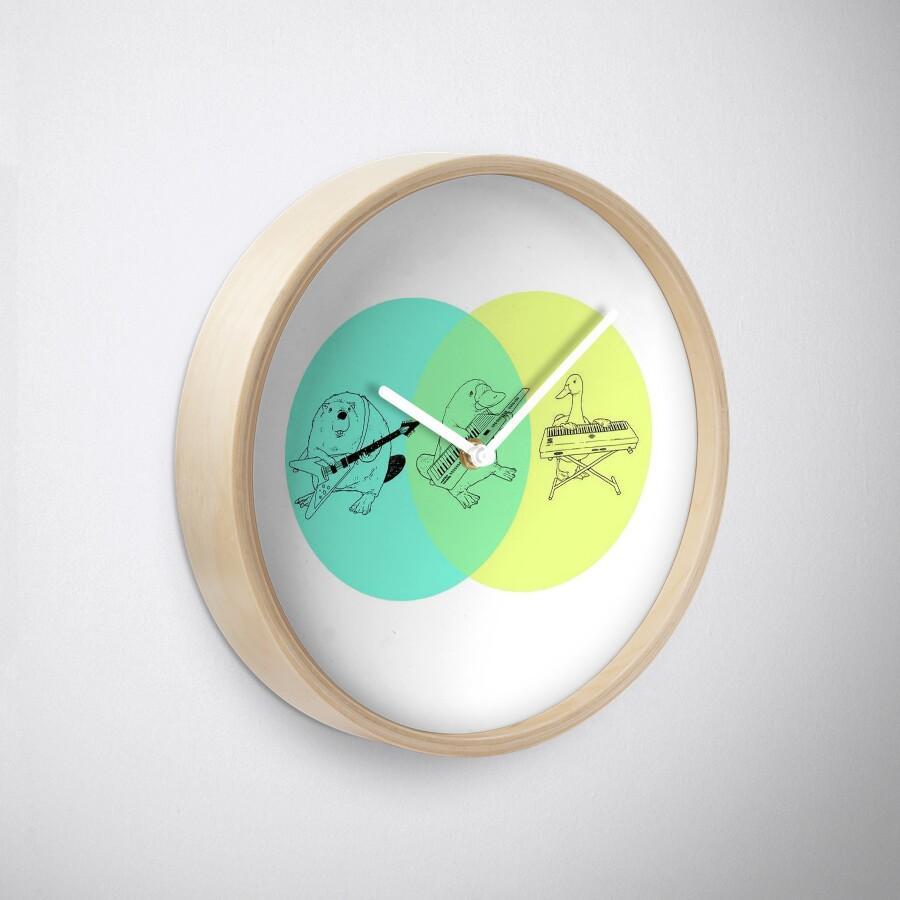 Relojes keytar platypus venn diagram de guyblank redbubble keytar platypus venn diagram pooptronica