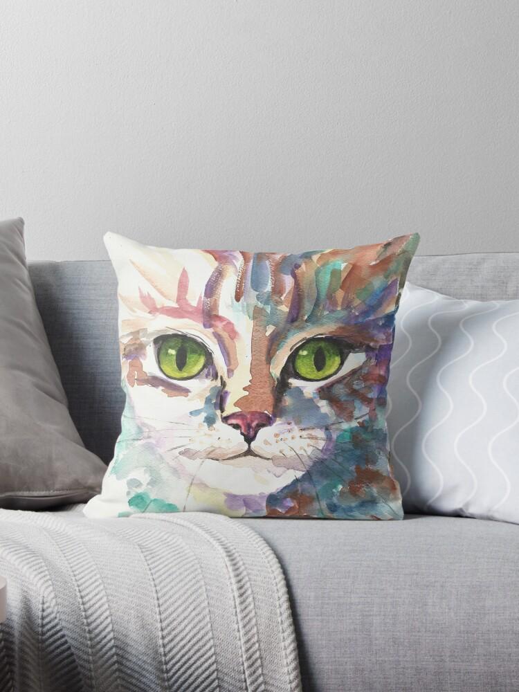 Cat Eyes by Marjansart