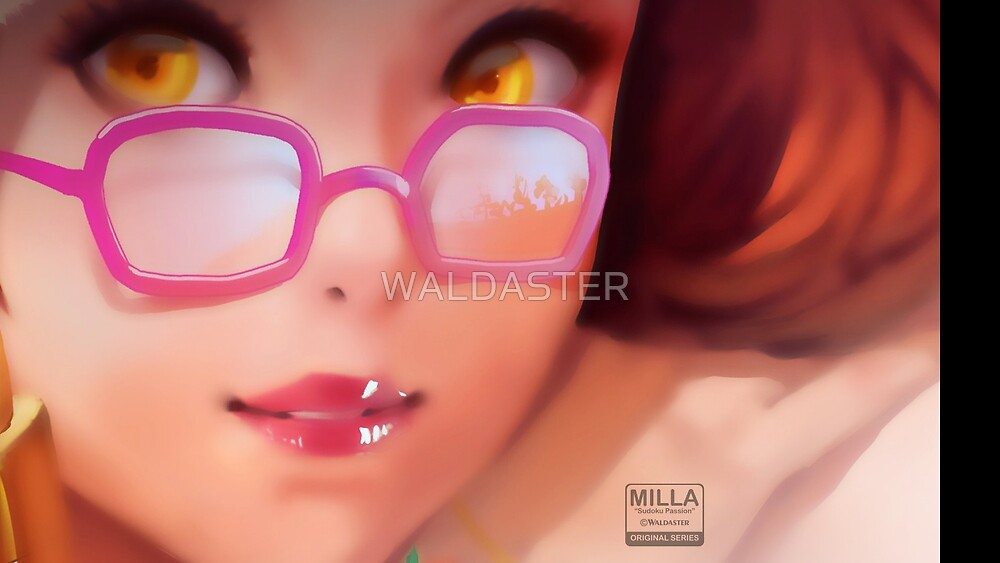 "SUDOKU PASSION | ""Milla - close-up"" - original merchandise by WALDASTER"