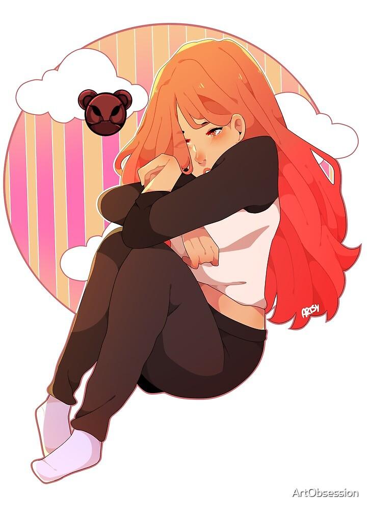 Quinn - Sad by ArtObsession