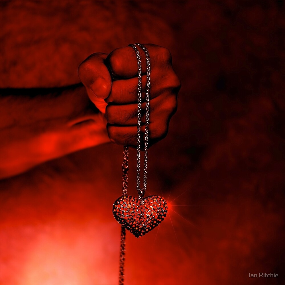 Chained Heart by Ian Ritchie