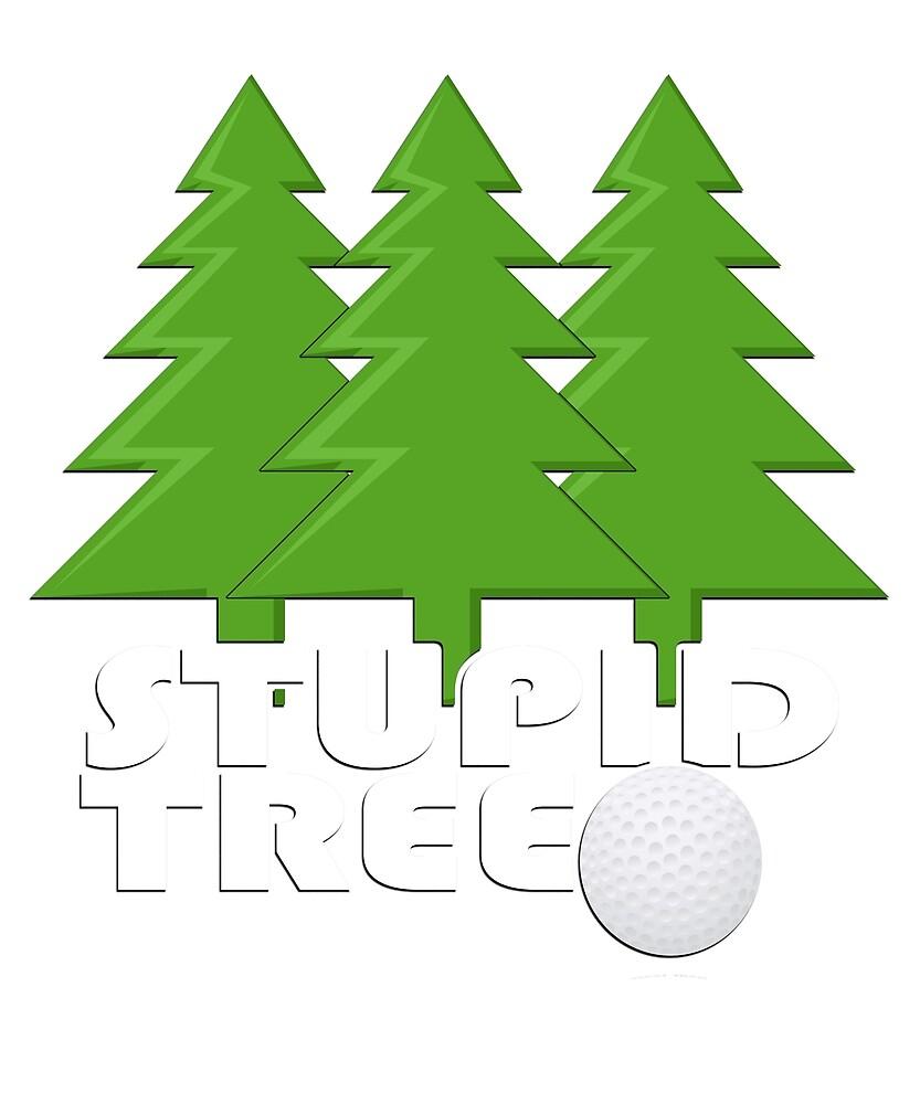 Funny Sport Golf Logo by Bfitzg