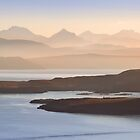 Misty Layers. Fisherfield Hills. From Coigach. Scottish Highlands. by PhotosEcosse