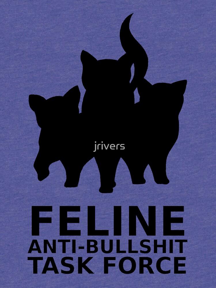 Feline Anti-Bullshit Task Force by jrivers