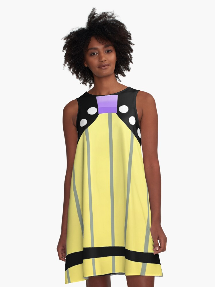 Vocaloid Cheerful Candy Rin A-Line Dress Front