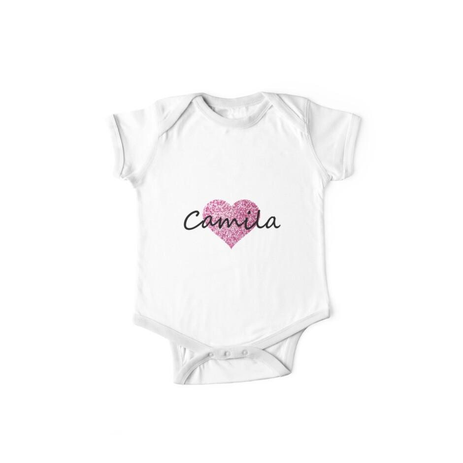 Camila pink glitter heart by Obercostyle