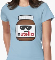 Nutella face 6 Women's Fitted T-Shirt