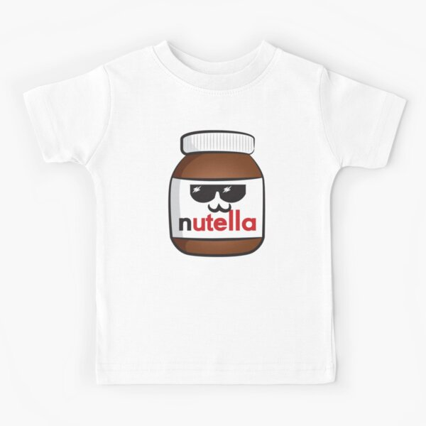 Nutella face 6 Kids T-Shirt