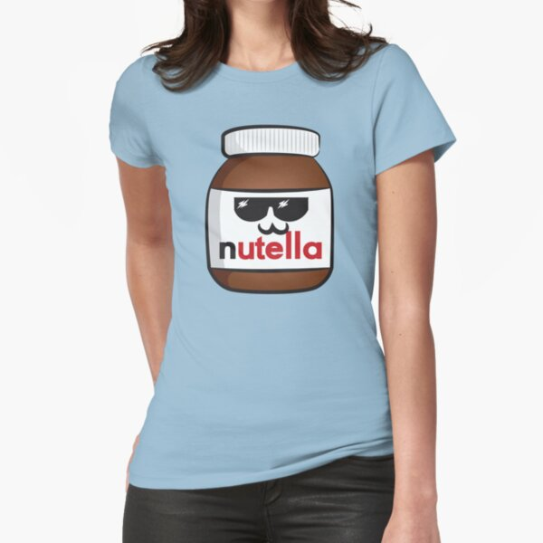 Nutella face 6 Fitted T-Shirt