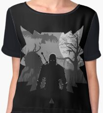 The Witcher 3: Wild Hunt Women's Chiffon Top