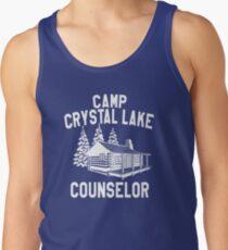 Camp Crystal Lake Counselor  Tank Top