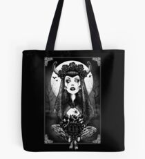 Gothic Clothing, Gothic Art, Day of the Dead Art, Day of the Dead Picture ,Dia De Los Muertos Tote Bag