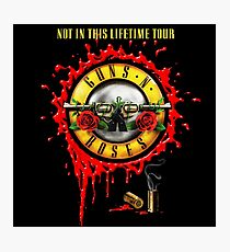 Not In This Life Time Tour Photographic Print
