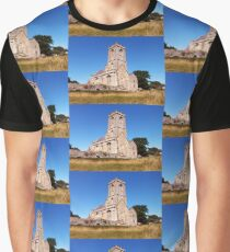Woodspring Priory at Sunset Graphic T-Shirt