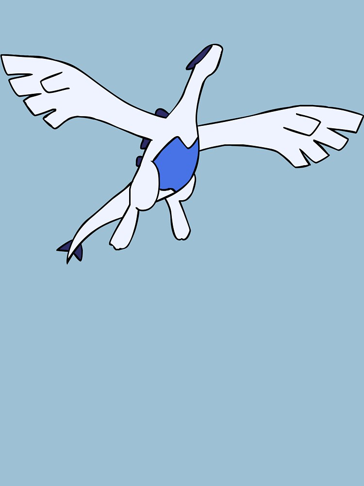 Flying Lugia by pokwisy