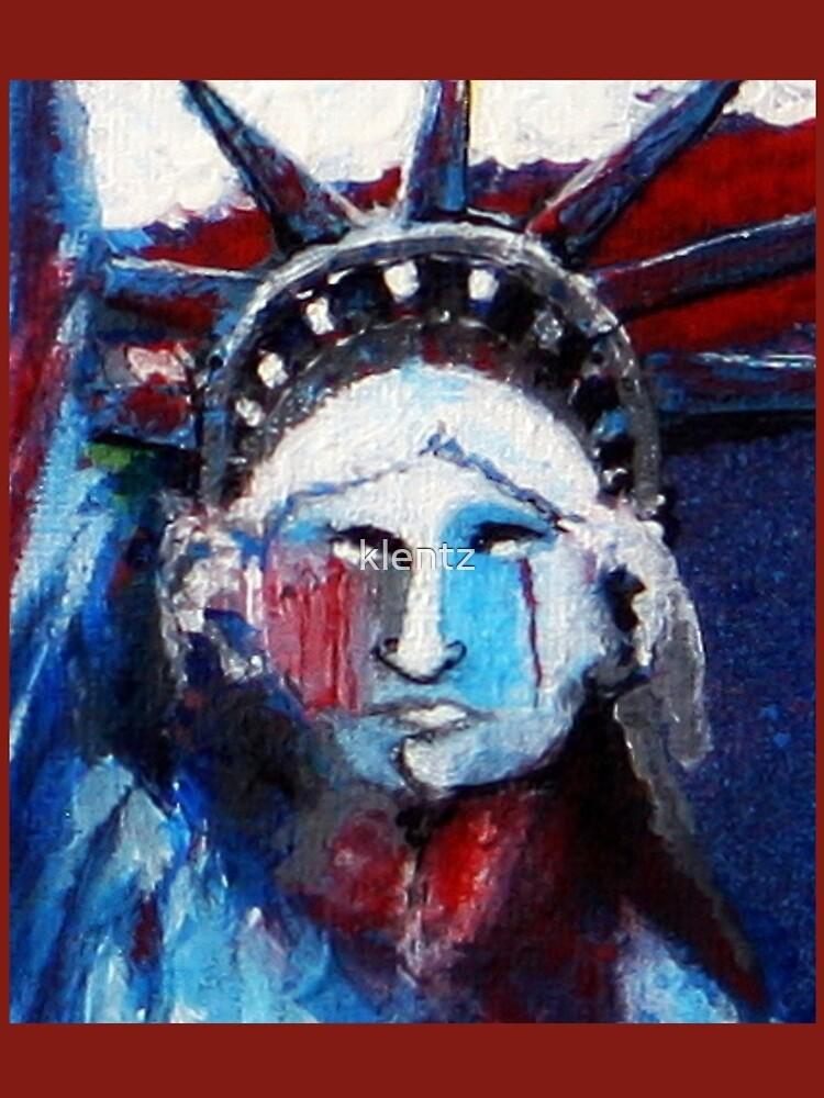 Lady Liberty Weeps by klentz