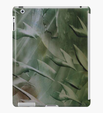 Encaustic Art Cosmic Birds  iPad Case/Skin