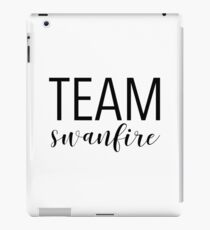 Team Swanfire iPad Case/Skin