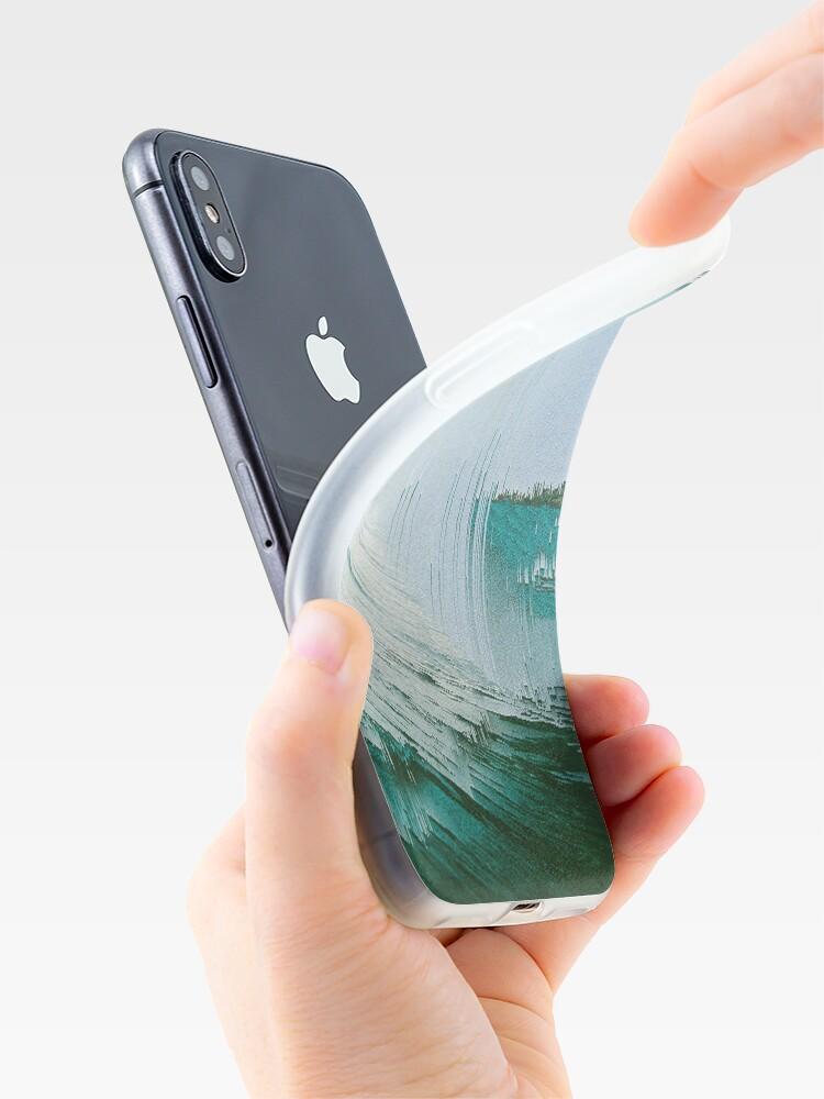 Alternative Ansicht von Pixel Sortierung Zusammensetzung iPhone-Hülle & Cover
