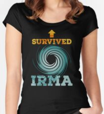 I Survived Irma Women's Fitted Scoop T-Shirt