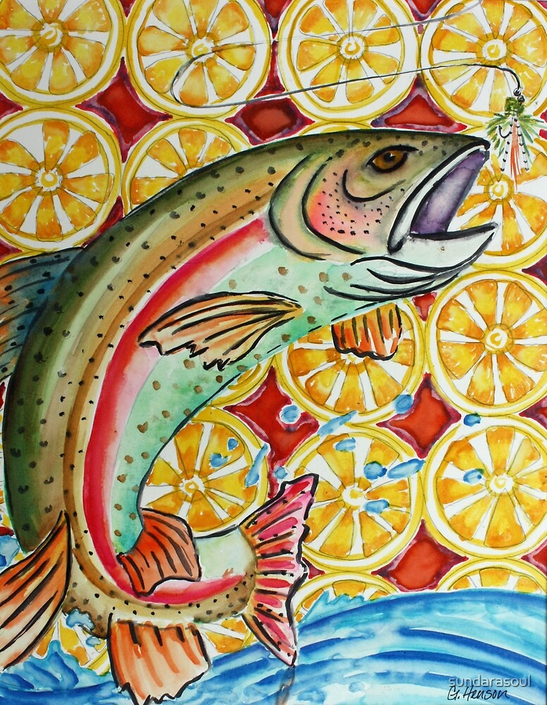 Trout with a Twist by sundarasoul