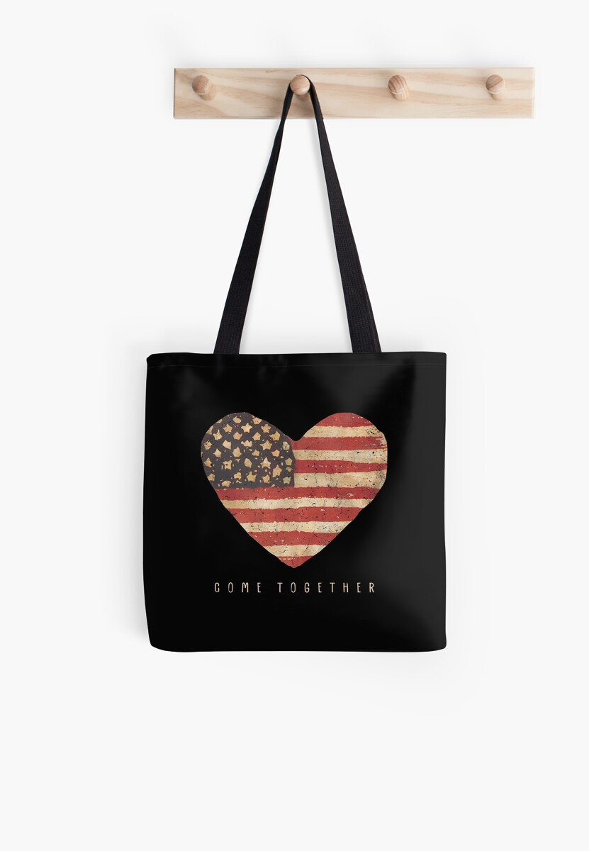 come together US Heart flag by directdesign