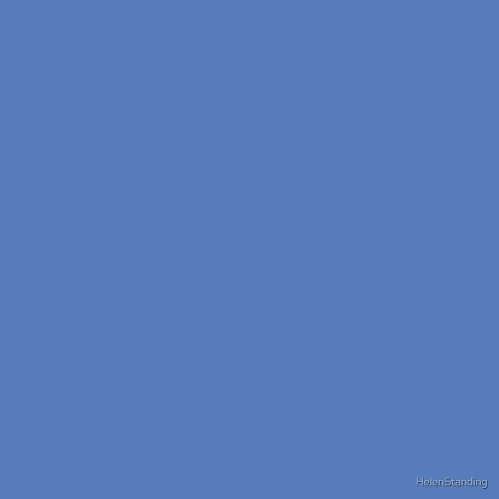 Solid - Blue (C3.3) by HelenStanding