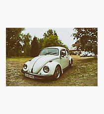 VW Beettle Photographic Print