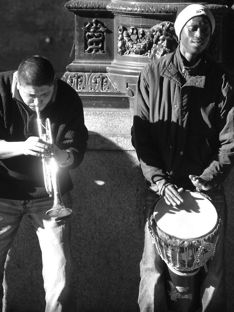 Musicians by Jo Byrne