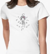 La La La Womens Fitted T-Shirt