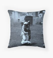 Praying For Answers Throw Pillow