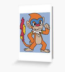 Monferno Greeting Card