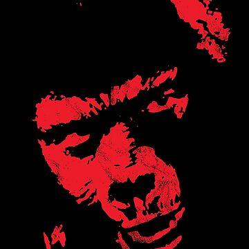 General Aldo Ape 'NO!' vintage red 1973 by MediaBee