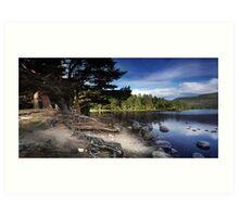 Loch An Eilean Art Print