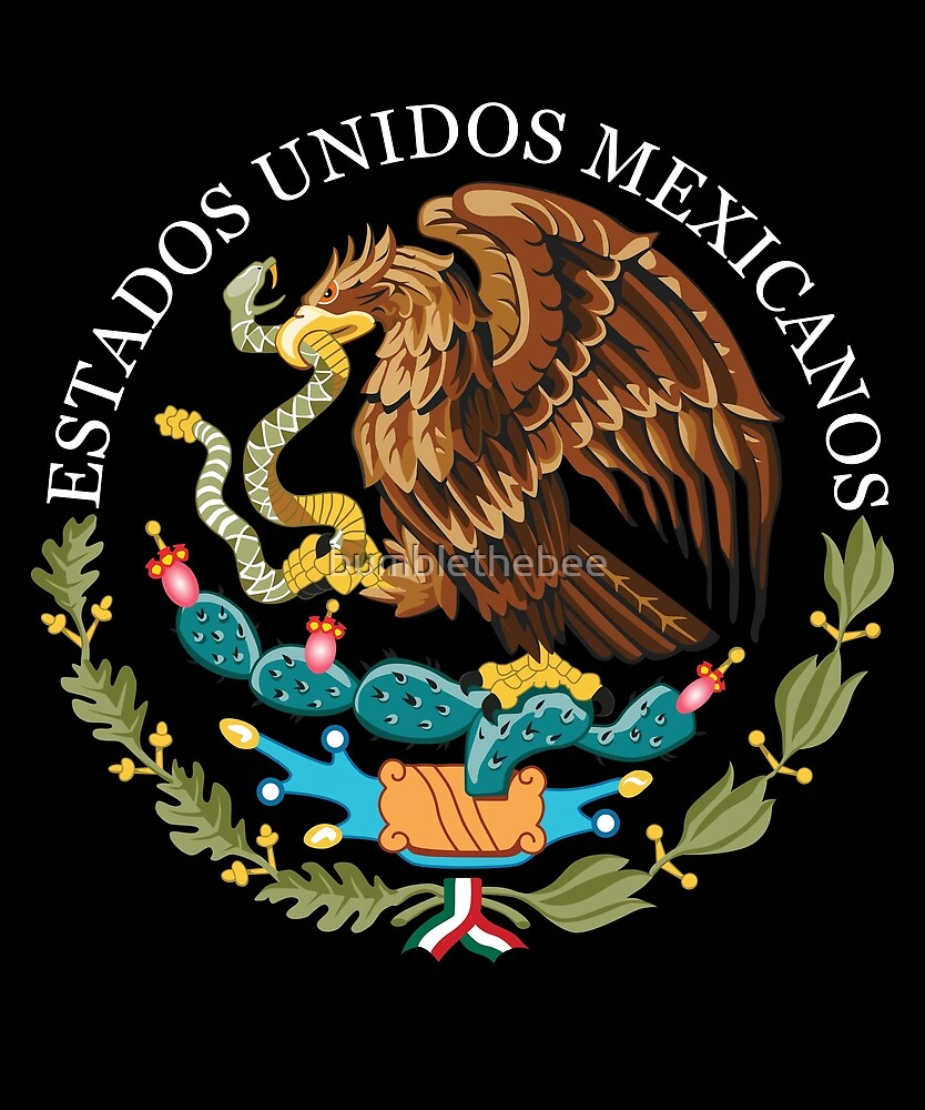mexico coat of arms by bumblethebee