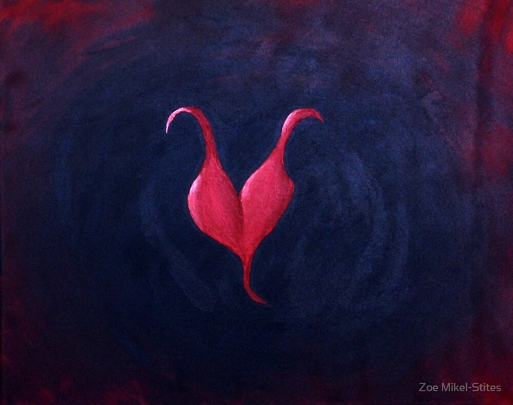 Horned Heart by Zoe Mikel-Stites