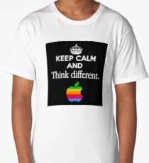 Keep Calm And Think Different Long T-Shirt