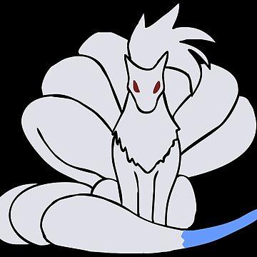 Shiny Ninetales by pokwisy