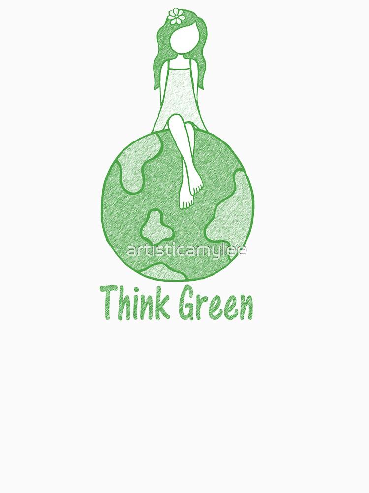 Think Green by artisticamylee