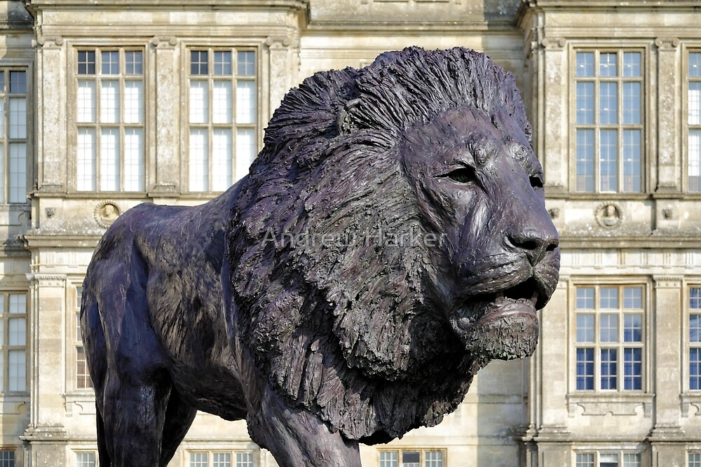 Lion Sculpture, Longleat House, Wiltshire, UK by Andrew Harker